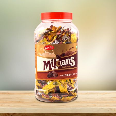 Milcians Cappuccino Coffee Candy Jar