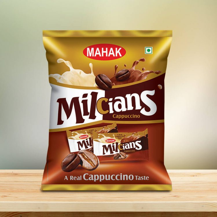 Milcians Cappuccino Coffee Candy Pouch