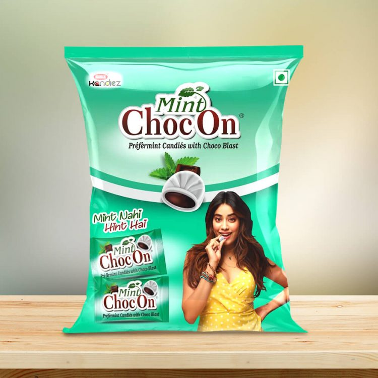 Mint ChocOn Candy Big Pouch