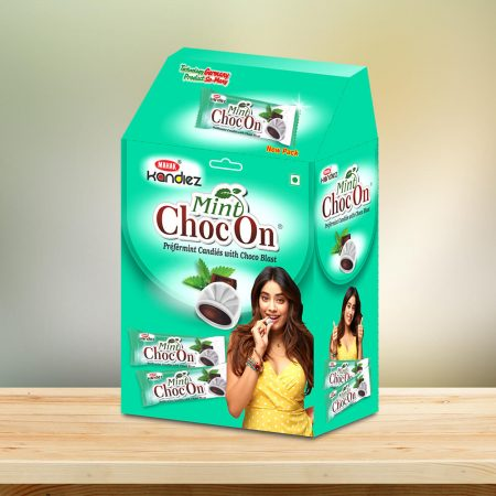 Mint ChocOn Dispenser Box