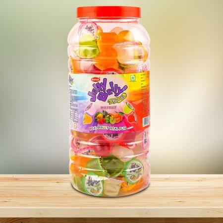 Mix Fruit Jelly Cup Jar