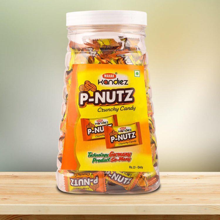 P-Nutz Candy Jar