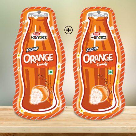 Fizzup Orange Candy Designer Pouch