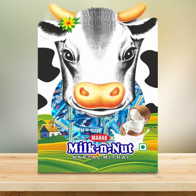 Milk N Nut Designer Pouch Cow