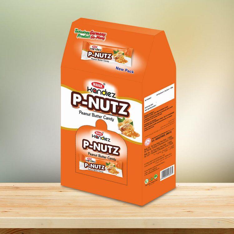 P nutz candy dispenser box